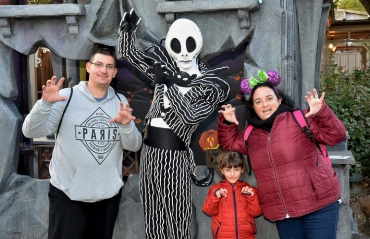 Jack Skeleton Disneyland Paris