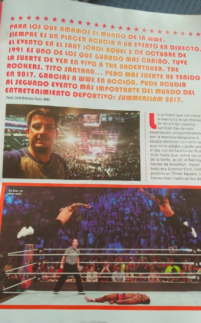 Revista wwe en acción
