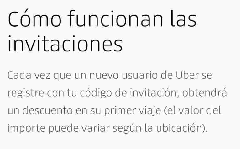 Descuento uber